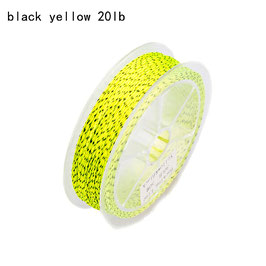 FLY LINE BACKING black/yellow