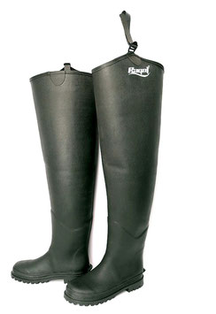 Ragot Neoprene-Lined Rubber Hip Waders