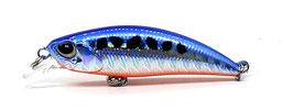 SPOOKY Wobbler 50S blue silver