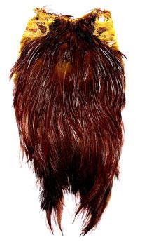 Indischer Hahnenbalg braun