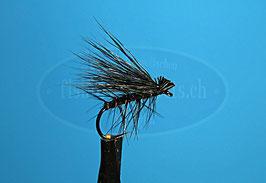 Trockenfliege Rehhaar black