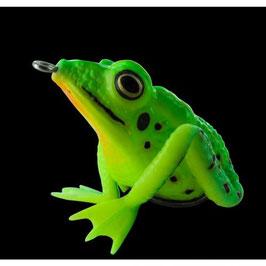 "The Prinz""- Realistic Frog Neon green"