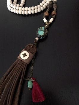 Mala Vintage Vanity - 'Turquoise stone'
