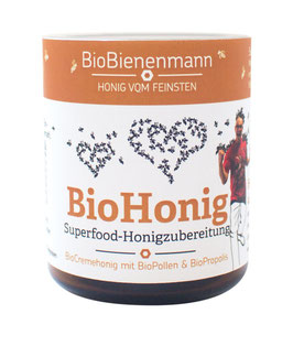 BioHonig mit Blütenpollen & Propolis