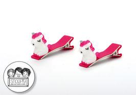1 paar knipjes: Mini-unicorn
