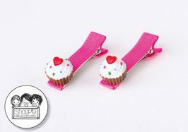 1 paar knipjes: Cupcakes