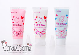 5 x Tube DecoCream voor CandyCoating (mix)