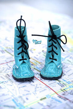 shoes light blue patterned