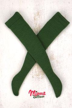 Stockings dark green / 21-71