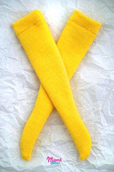 socks yellow lemon