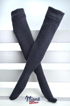 stockings steel blue