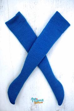 long socks sky blue