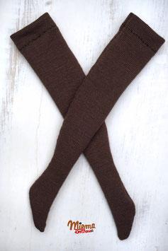 long Socks dark brown