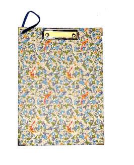 Klemmbrett Florentiner Papier Vögel
