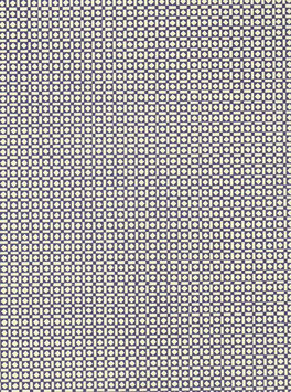 Leipziger Vorsatzpapier blaue Quadrate Balken
