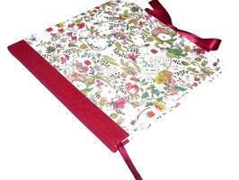 Gästebuch / Schreibbuch / Tagebuch Florentiner Papier Libellen