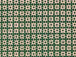 Leipziger Vorsatzpapier  Zackensterne grün