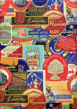 Florentiner / Italienisches Papier  50 x 70 cm Hotels