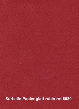 Surbalin Papier glatt rubin rot