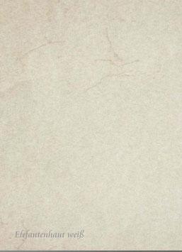 Elefantenhaut weiß 35 x 50 cm