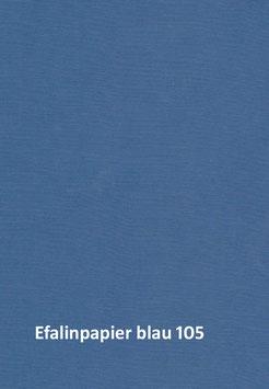 Efalinpapier blau,glatt,  70 cm x 50 cm, Gewicht: 120 g/m²