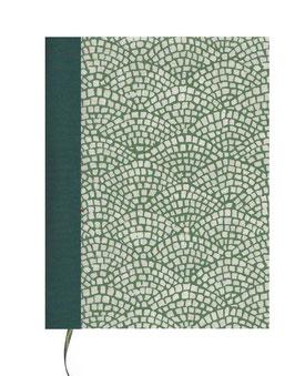 Kalender / Buchkalender / Tageskalender 2019 DinA5, Carta Varese Papier Hölzer grün