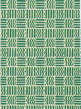 Italienisches Papier Carta Varese  / Buntpapier,Muster Quadrate grün