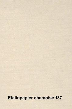 Efalinpapier chamoise  70 cm x 50 cm, Gewicht: 120 g/m²