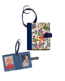 Fotoanhänger/Anhänger /Schlüsselanhänger / Taschenanhänger für Fotos / Passfotos  Florentiner Papier Vögel