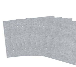 10 Blatt Spinnenpapier,Zusatzblätter, 23,2 x 29,7cm,querformat