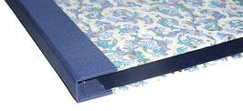 Ringordner Florentiner blau gold 2cm breit