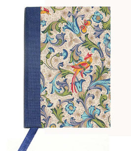 Kalender / Buchkalender / Taschenkalender 2019 DinA7, Florentiner Papier Ornamente Vögel