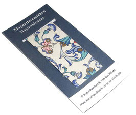 Magnetlesezeichen Ornamente Schmetterlinge