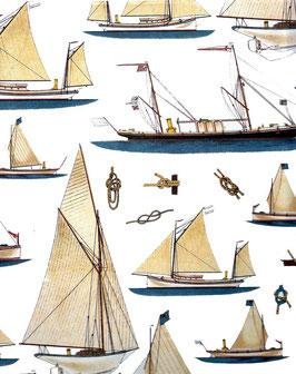 Italienisches Papier Carta Varese große Segelschiffe