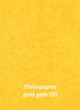 Efalinpapier goldgelb 70 cm x 50 cm, Gewicht: 120 g/m²