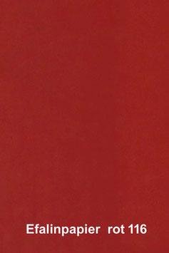 Efalinpapier rot,glatt,  70 cm x 50 cm, Gewicht: 120 g/m²