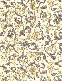 Florentiner / Italienisches Papier  50 x 70 cm  Flt marrone