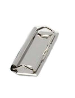 Bügelklammer  für Klemmbretter,ohne Nieten  100 x 30,6 mm - vernickelt