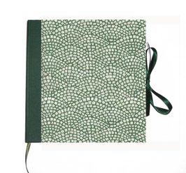 Adressbuch Telefonbuch,Carta Varese Papier Hölzer  grün
