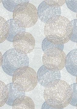 Florentiner / Italienisches Papier  50 x 70 cm Circulus mit Golddruck