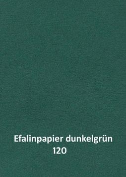 Efalinpapier dunkelgrün 70 cm x 50 cm, Gewicht: 120 g/m²