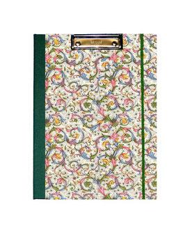 Klemmbrett Mappe DinA4 , Carta Varese Papier Trend  grün