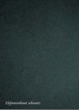 Elefantenhaut  schwarz 35 x 50 cm