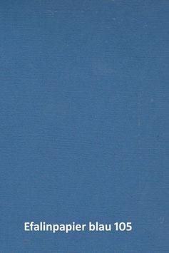 Efalinpapier blau  70 cm x 50 cm, Gewicht: 120 g/m²