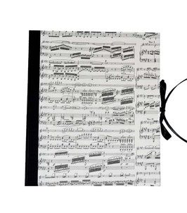 Ordner / Ringordner Noten schwarz, 3 cm breit