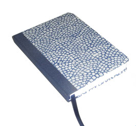 Kalender / Buchkalender / Taschenkalender 2019 DinA6, Carta Varese Papier Hölzer blau, cremfarbiges Papier