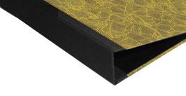 Ringordner 4 cm breit,mit Baumwollpapier ,Paradise Khaki lime