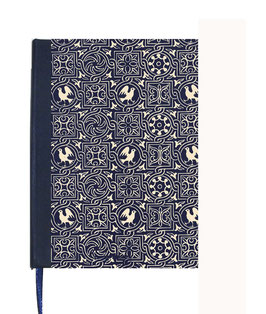 Kalender / Buchkalender / Tageskalender 2021 DinA5, Carta Varese Vögel blau