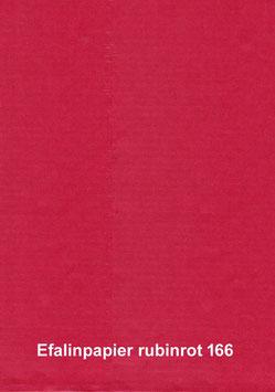 Efalinpapier rubinrot,glatt,  70 cm x 50 cm, Gewicht: 120 g/m²