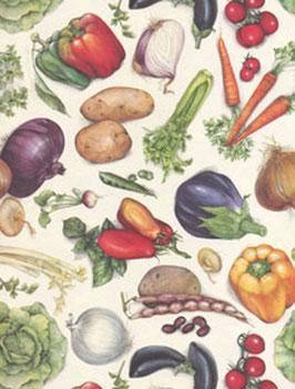 Italienisches Papier Carta Varese / Buntpapier, Gemüse